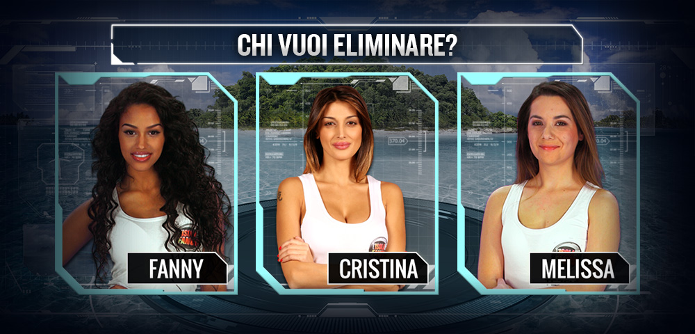 Fanny Cristina E Melissa In Nomination